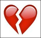 Que signifie le cœur brisé ?