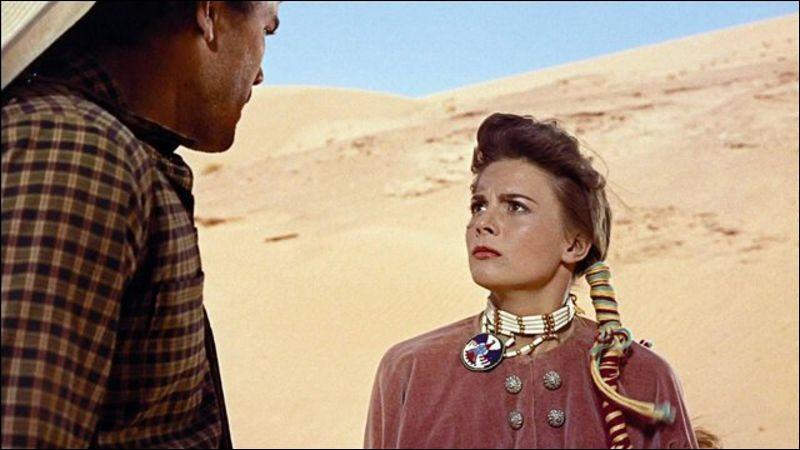 """Complétez le titre de ce western de John Ford, sorti en 1956 : """"La … du désert""""."""