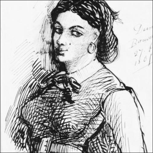 """Elle fut un temps l'amante du poète Charles Baudelaire et lui a inspiré quelques poèmes présents dans les """"Fleurs du mal"""". Il s'agit de … Duval."""