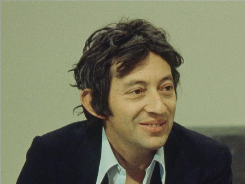Parmi ces prénoms féminins, lequel a été chanté par Serge Gainsbourg ?
