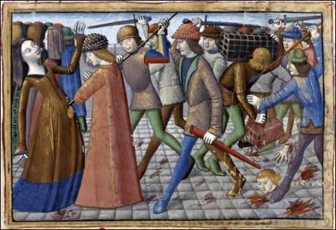 Familles nobles chargées du conseil de régence pendant la folie de Charles VI, nous nous déchirons pendant 40 ans. Nous sommes…