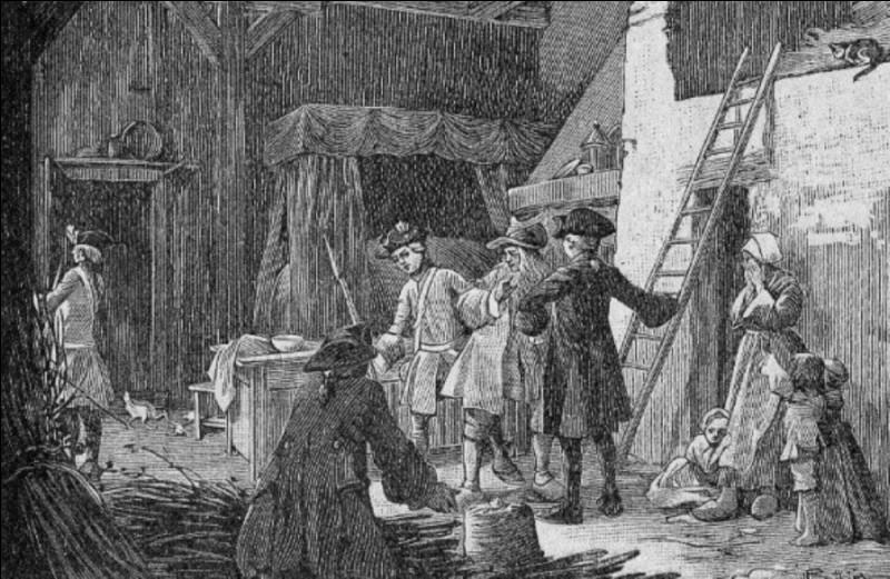 Ancienne taxe sur le sel au Moyen Âge, il s'agit de la...