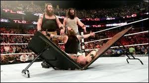 Quelle est cette team de la WWE ?