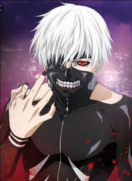 Quel est l'orthographe de l'anime dans lequel apparaît Ken Kaneki ?