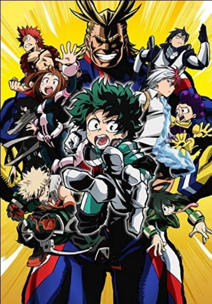 "Comment s'appelle l'alter d'Izuku Midorya dans ""My Hero Academia"" ?"