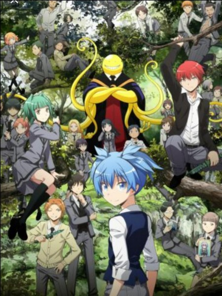 "Comment s'appelle le professeur dans ""Assassination Classroom"" ?"