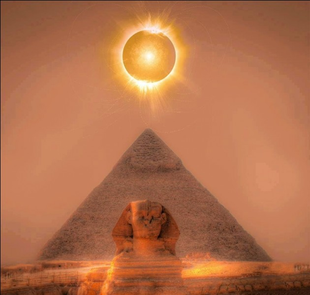 Le dieu égyptien Horus avait une tête de...
