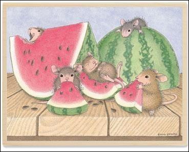 Que grignotent nos souris ?