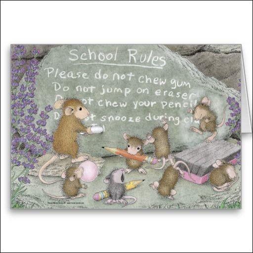 Tu vas traduire la deuxième phrase du règlement de l'école :