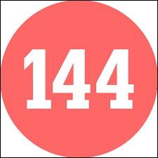 """Laquelle de ces soustractions ne donne pas pour résultat """"144"""" ?"""