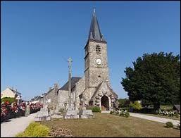 Voici l'église Saint-Jean-Baptiste de Domjean. Commune Manchote, elle se situe dans l'ancienne région ...