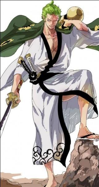 Lorsque Zoro utilise Ashura, combien de sabres peut-on voir ?