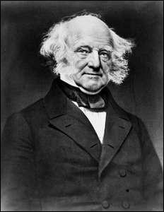 Années : 1837-1841Natif de : New YorkParti : démocrate Fait : premier président né citoyen américain De qui s'agit-il ?