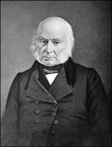 Années : 1825-1829Natif de : MassachusettsParti : républicain-démocrate Fait : adversaire acharné de l'esclavage des noirs De qui s'agit-il ?