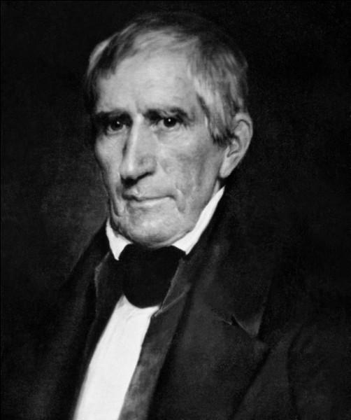 Année : 1841-1841Natif de : Virginie Parti : whig Faits : meurt après à peine un mois d'investiture De qui s'agit-il ?