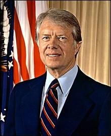 Années : 1977-1981Natif de : Géorgie Parti : démocrate Faits : signature des traités du canal du Panama De qui s'agit-il ?