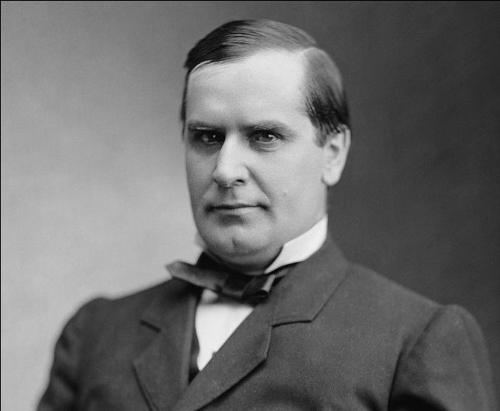 Années : 1897-1901Natif de : Ohio Parti : républicain Fait : assassiné par l'anarchiste Leon CzolgoszDe qui s'agit-il ?