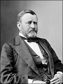 Années : 1869-1877Natif de : Ohio Parti : républicain Faits : reconstruction des Etats du sud De qui s'agit-il ?