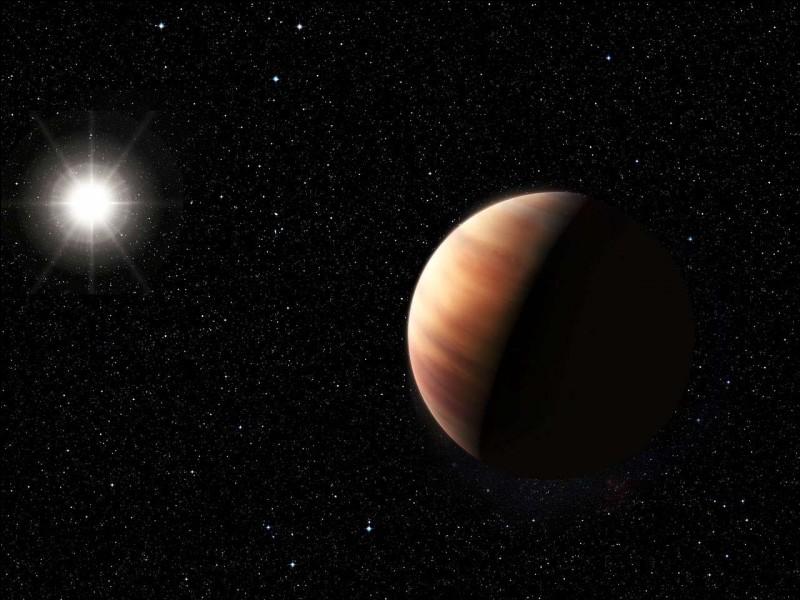 Jupiter tourne autour du Soleil en ...