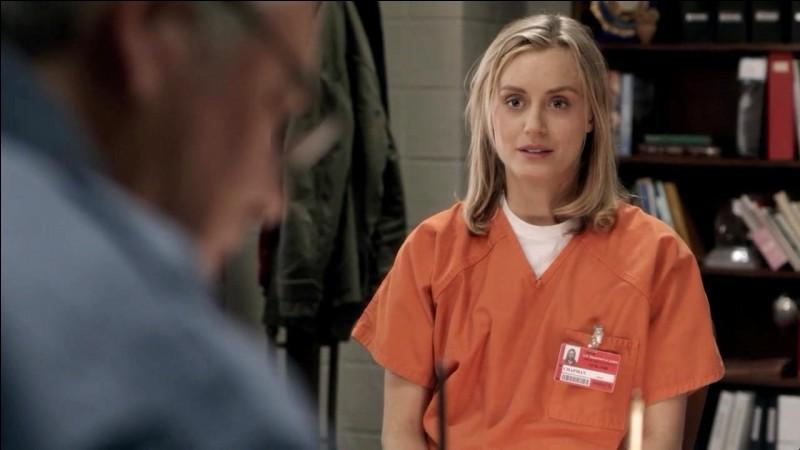 Au départ, à combien de mois de prison Piper est-elle condamnée ?
