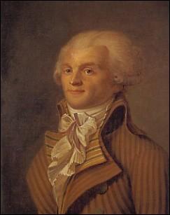 Quel surnom a été donné à Robespierre ?