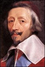 """Complétez avec un nom de couleur, le surnom du cardinal de Richelieu : """"L'éminence...""""."""