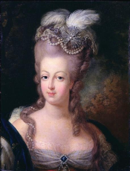 Comment était surnommée Marie-Antoinette ?