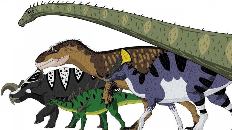 Quel autre dinosaure n'est pas sur la liste ?