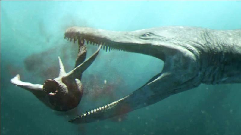 Quel est le seul reptile marin créé par InGen ?