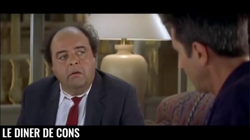 """Comment s'appelle le remake américain du film """"Le Dîner de cons"""" ?"""
