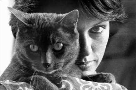 """À quelle actrice française doit-on le roman """"Les chats de hasard"""" ?"""