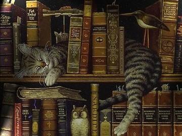 Les chats dans les titres de livres