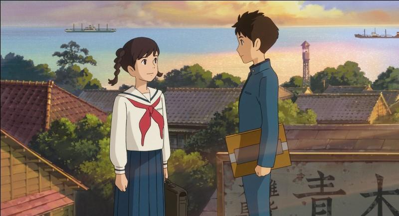 """Complétez le titre de ce film d'animation réalisé par Gorō Miyazaki en 2011 : """"La Colline aux ..."""""""