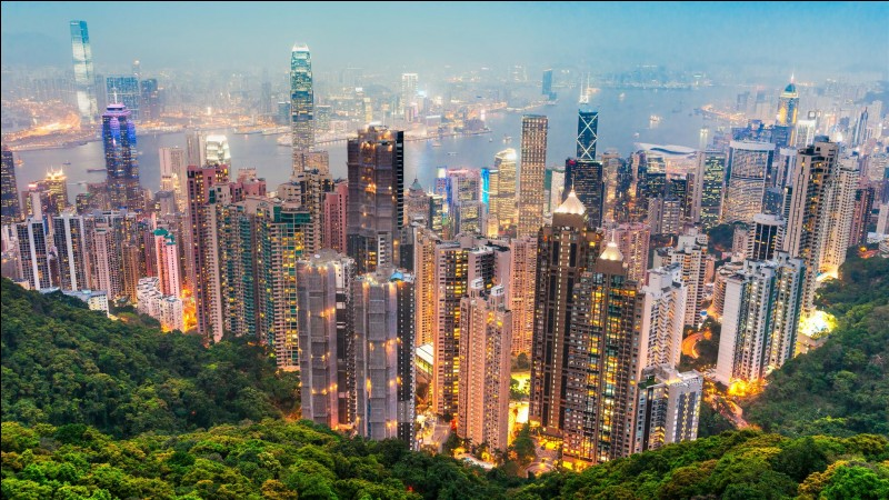 Est-ce que Hong Kong se situe Amérique ?