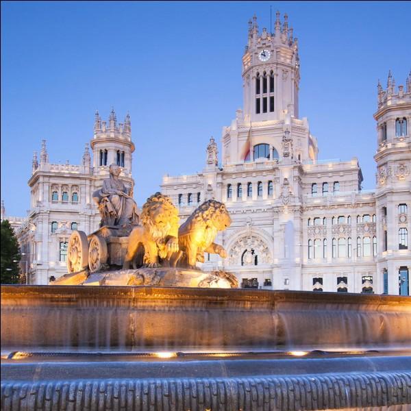 Où se localise Madrid ?