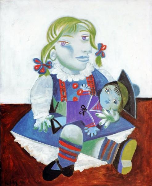 """Qui a réalisé le tableau surréaliste """"Maya à la poupée"""" ?"""