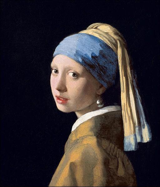 """Quel peintre hollandais du XVIIe est l'auteur du célèbre tableau """"La Jeune fille à la perle"""" ?"""