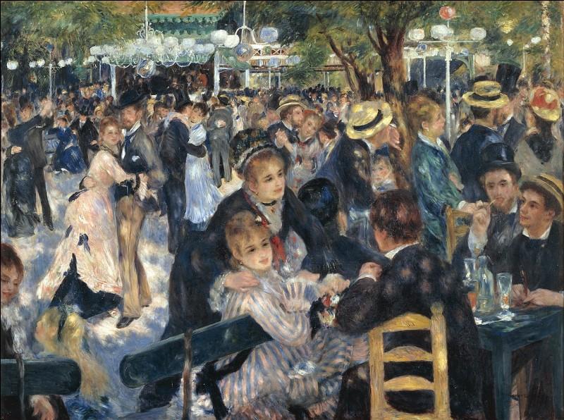 """Qui est l'auteur du célèbre tableau """"Bal du Moulin de la Galette"""" ?"""