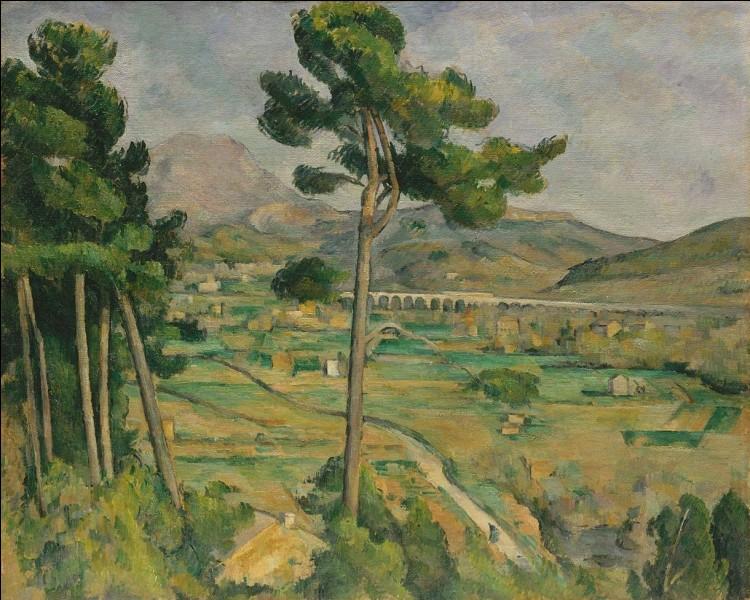 """Qui a peint le tableau """"La Montagne Sainte-Victoire"""" ?"""