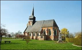 Commune Samarienne, Doudelainville se situe en région ...