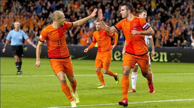 L'équipe de football masculine des Pays-Bas n'a jamais remporté la Coupe du monde malgré trois présences en finale.