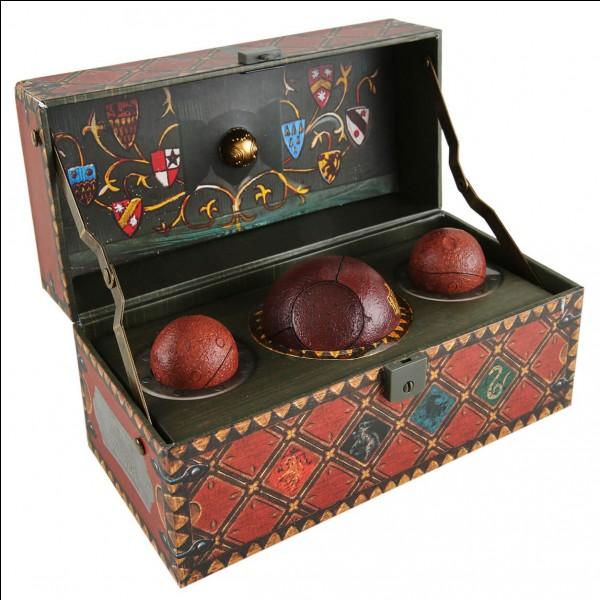 Quelles sont les 3 balles utilisées pour le Quidditch ?