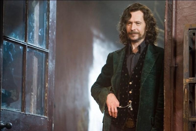 Qui est Sirius Black pour Harry ?