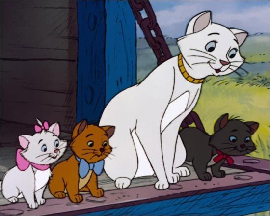 """Dans """"Les Aristochats"""", comment s'appelle le majordome qui veut tuer les chats ?"""
