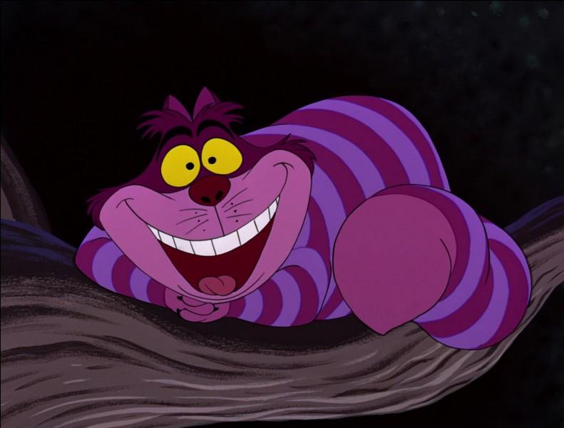 """Comment s'appelle le chat capable de se rendre invisible dans """"Alice au pays des merveilles"""" ?"""