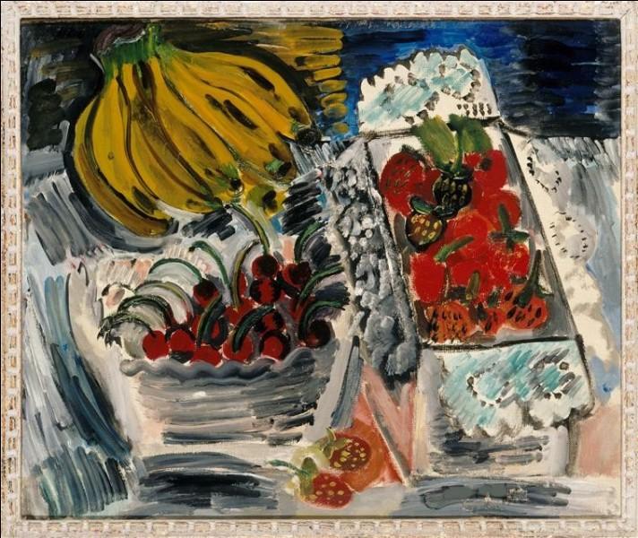 """Qui a peint des fraises sur le tableau intitulé """"Nature morte aux fruits"""" ?"""
