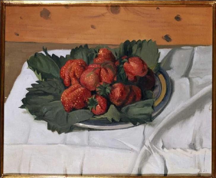 """Qui est le peintre de cette """"Nature morte aux fraises"""" ?"""