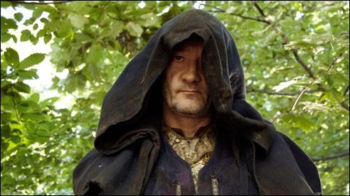 Par la bouche de quel autre personnage peut-on entendre Méléagant parler lors d'un épisode de la série ?