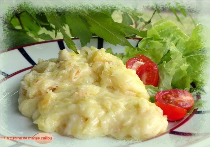 La truffade est un plat d'Auvergne à base de pommes de terre et de fromage.