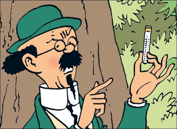 Quel est le prénom du Professeur Tournesol, personnage des aventures de Tintin ?